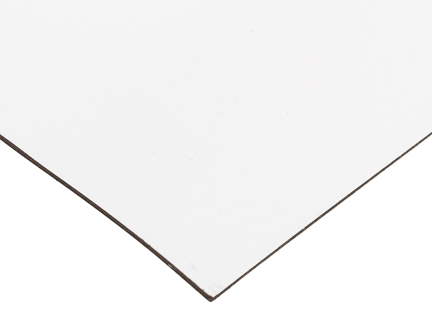 """5 Foot Roll of Flexible Matte White Magnetic Sheeting Medium Weight 24/"""" x 5/'"""