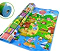 "Carpet Baby Kid Toddler Foam Soft Play Game Mat Carpet Activity Gift (Size: 200 x 180cm (about 79 ""x 71"")"