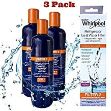 Whirlpool Filter 2 W10413645A Replacement Refrigerator Filter-- (Package Of 3)