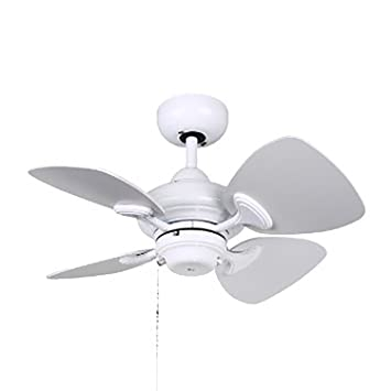 ceiling fan 4 blades. kendal lighting ac16324-wh aries 24-inch 4-blade ceiling fan, white fan 4 blades