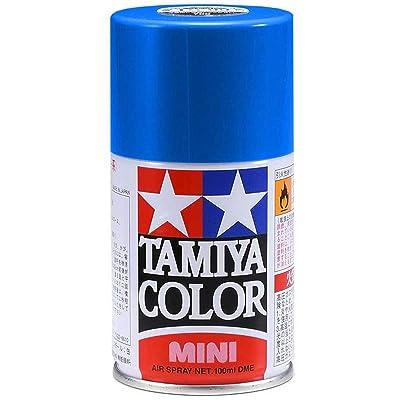 Tamiya Spray Lacquer TS-19 Metallic Blue - 100ml Spray Can 85019: Toys & Games