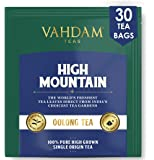 VAHDAM, Himalayan Oolong Tea Bags (30 Count) - 100% Natural Detox Tea, Oolong Tea Loose Leaf Pyramid Tea Bags, Brew Hot…