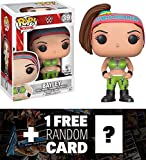 Bayley (Toys ''R'' Us Exclusive): Funko POP! WWE x WWE Vinyl Figure + 1 FREE Official WWE Trading Card Bundle (14830)