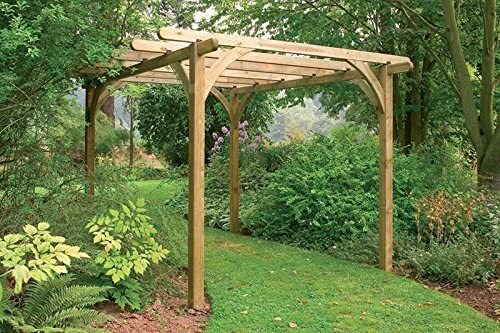 Ultima Pérgola Kit 3, 6 x 3, 6 m: Amazon.es: Jardín