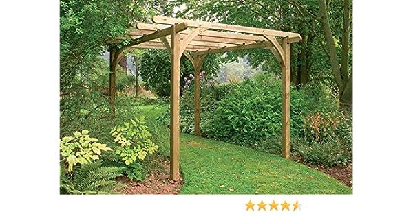 Ultima Pérgola Kit 3, 6 x 3, 6 m: Amazon.es: Jardín
