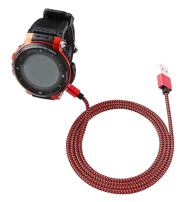 SEMILU - Cable de Carga magnético de Nailon para Reloj ...