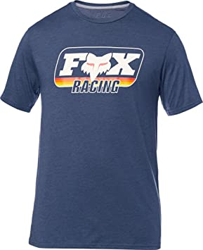 Fox Throwback Tech - Camisetas Hombre - Azul Talla S 2018