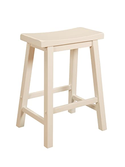 Powell Color Story Counter Stool - Pure White  sc 1 st  Amazon.com & Amazon.com: Powell Color Story Counter Stool - Pure White: Kitchen ... islam-shia.org