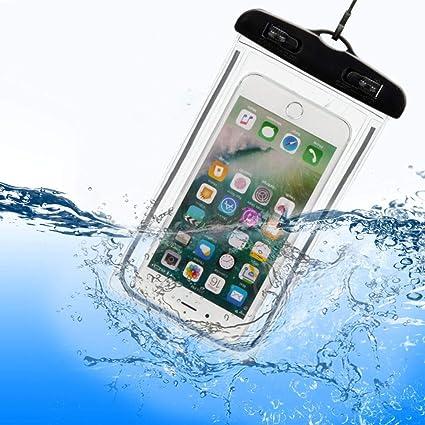 ef5a71b6b43 Capa Bolsa p Celulares A Prova D Água Impermeável universal até 6 polegadas
