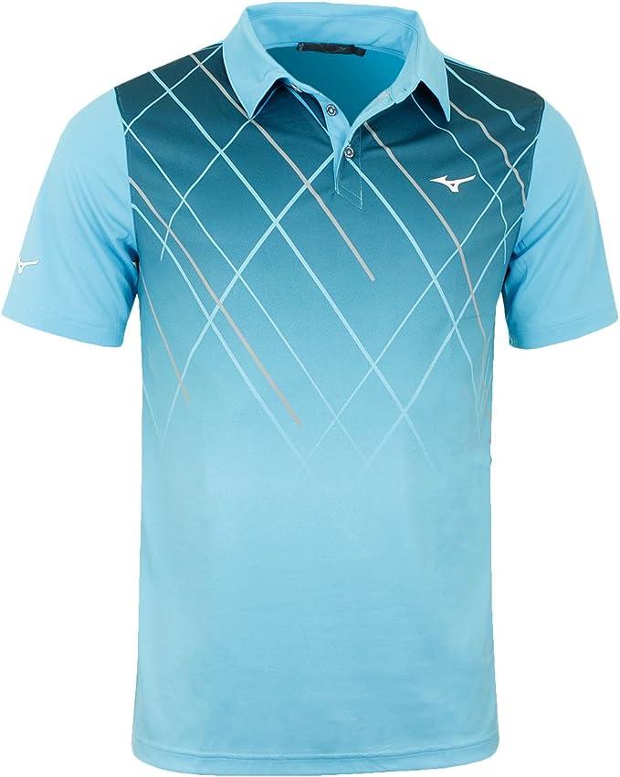 Mizuno Camisa de Polo Golf de sublimación Hombre, Hombre, Color ...