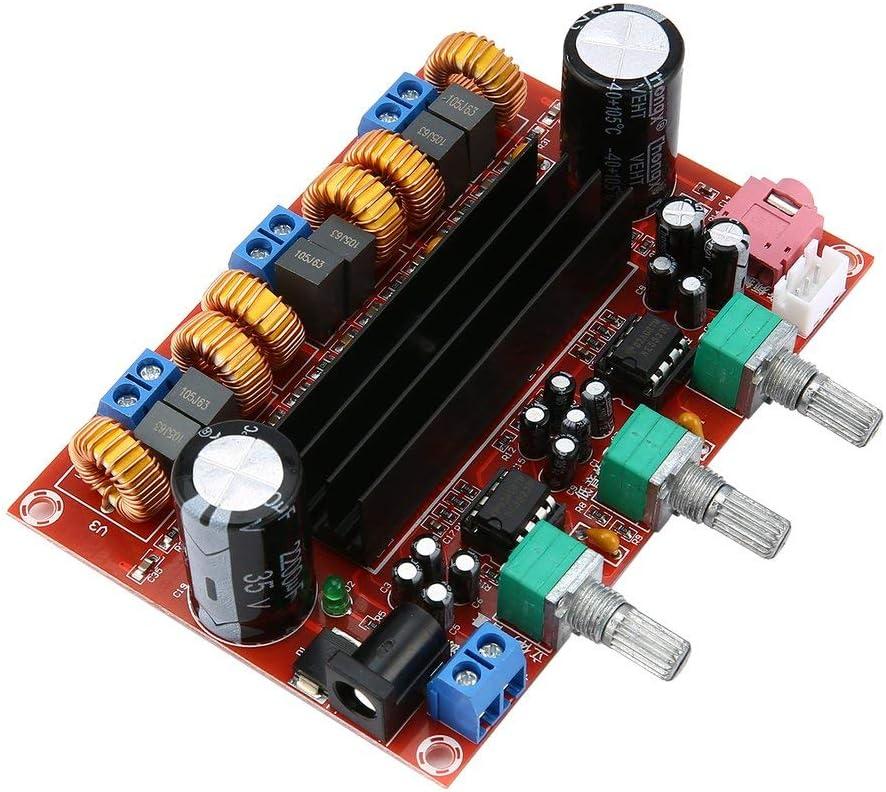 100 W 2,1 Wege Digital-Subwoofer-Verst/ärker 50 W x 2 Zinniaya TPA3116D2 High-Power-Verst/ärker mit Dual-Chip
