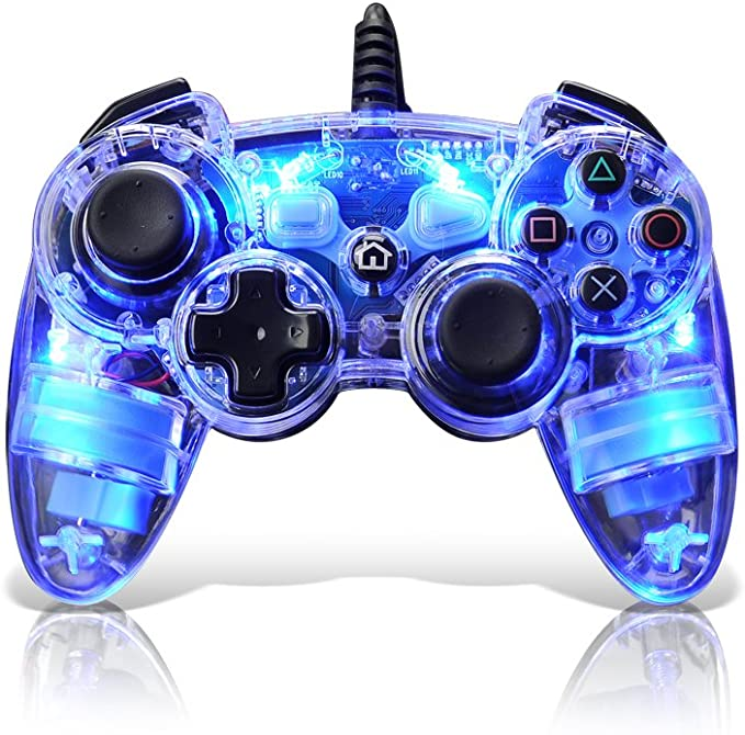 PDP - Controller Afterglow Wireless (PlayStation 3): Amazon.es: Videojuegos