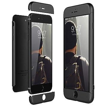 490a7e2653 HB-Int iPhone7Plus ケース 衝撃防止 全面保護 強化ガラスフィルム 360度フルカバー
