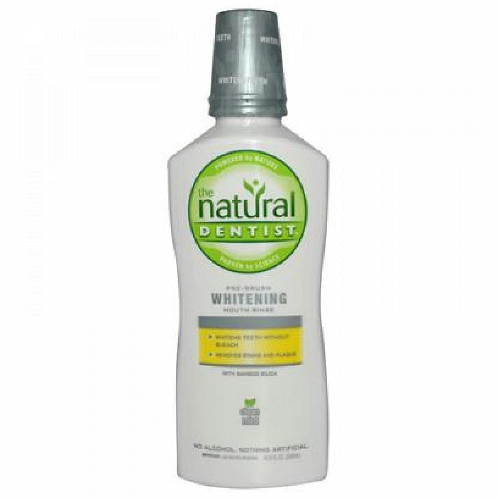 Natural Dentist Rinse Pre Brsh Whtng Mint 16.9 Fz by Natural Dentist (Image #1)