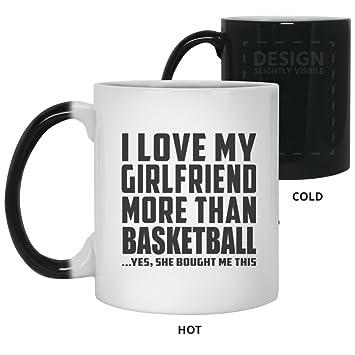 Boyfriend Best Gift Idea I Love My Girlfriend More Than Basketball