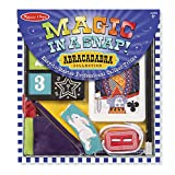 It's a snap to learn and perform these professional caliber magic tricks! the tricks in this collection, geared for kids four and older, are simple to master, yet truly amazing to behold. The 10-piece set includes a king-to-queen card, rope cutter, c...
