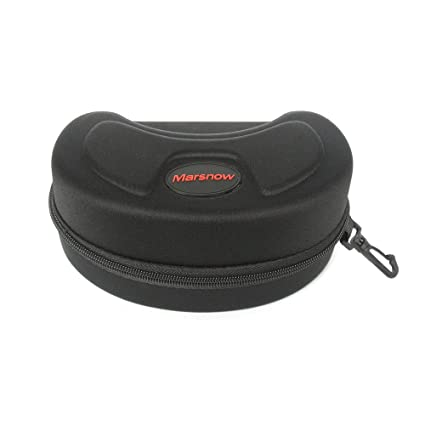 84b025f41a3c NAVADEAL Marsnow Hard Waterproof Protective Ski Goggle Carrying Case with  Portable Hook and Strong Zipper