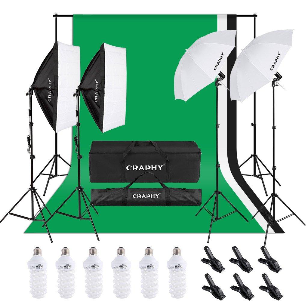 Craphy Studio Light Kit