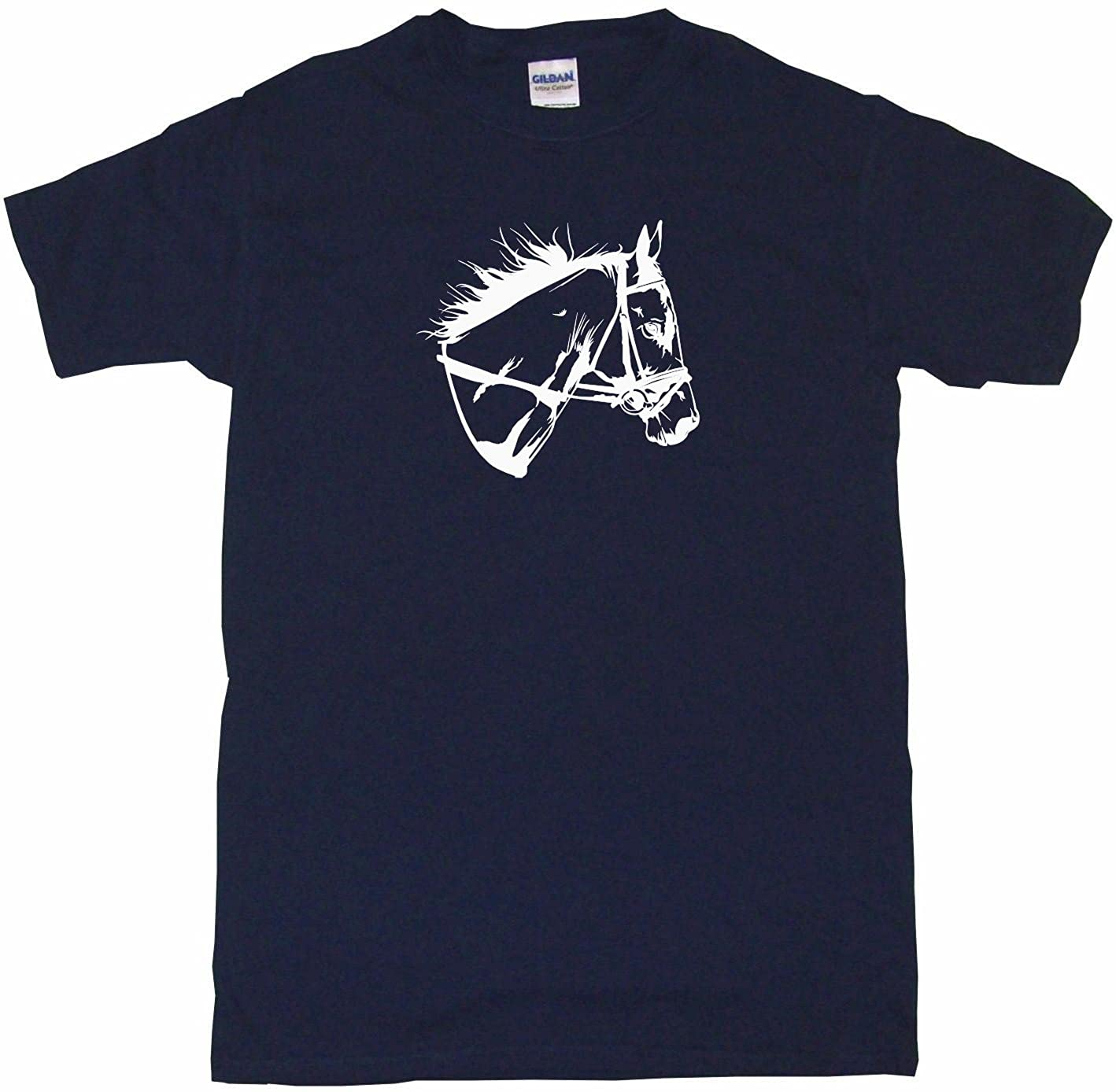 99 Volts Horse Head with Bridle Logo Big Boy's Kids Tee Shirt