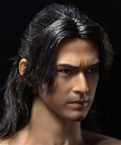 1//6 scale Male head sculpt for 12/'/' Action Figure