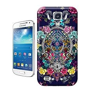 BreathePattern-Printing Flower Pattern Plastic Protective Case-Samsung Galaxy S4 case