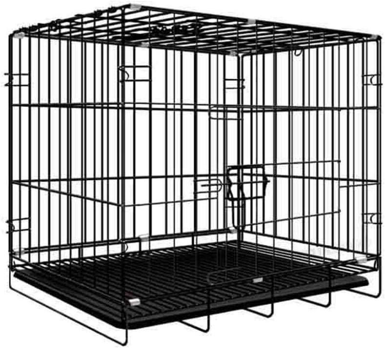 追う夢人犬用ケージ犬用フェンス小型猫用ケージペットケージ大型犬用トイレ屋内中型猫猫犬用別荘フェンスケージ-85 * 60 * 70cm