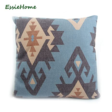MAYUAN520 Cojines Essie Casa Azul Impresión Digital De Gama ...
