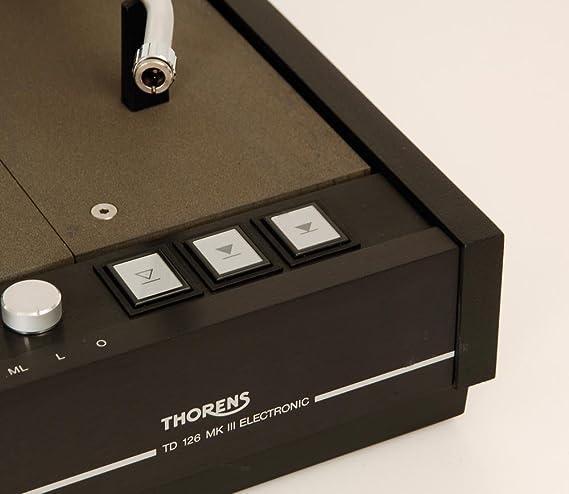 Thorens TD de 126 MK III Tocadiscos + emt-0148 929 brazo: Amazon ...