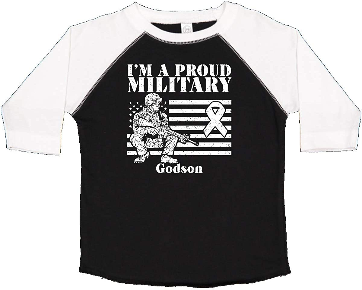 inktastic Proud Military Godson Red Friday Toddler T-Shirt