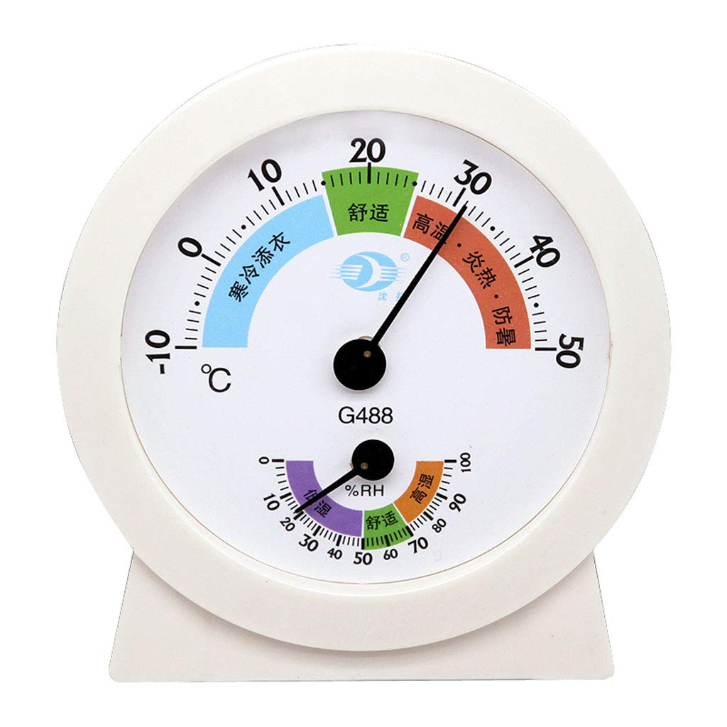YTS Household Indoor Thermometer Wet Thermometer High Precision Desktop Hanging