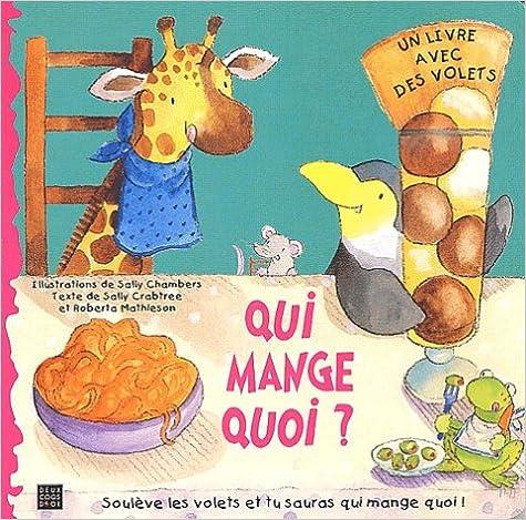 Livres gratuits en ligne Qui mange quoi ? pdf ebook