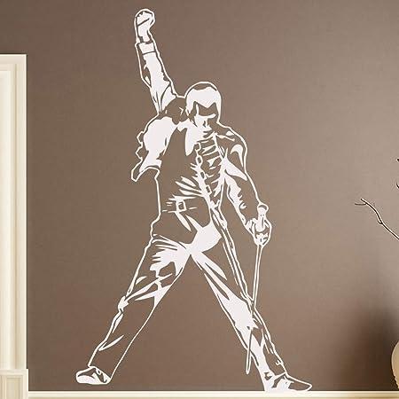 Vintage Freddie Mercury Queen Banda Musica Rock vinilo stickers ...
