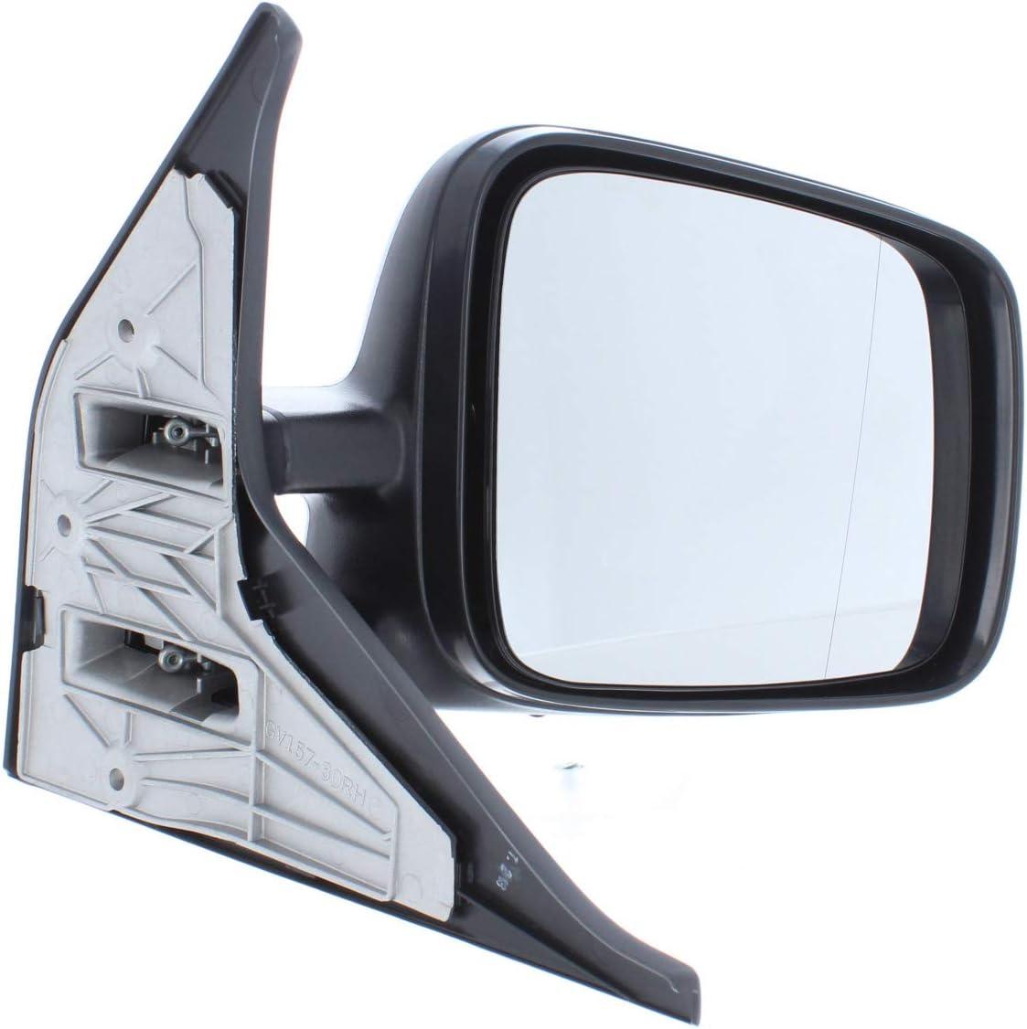 90-03 MM616 Van Demon Right Hand Black Manual Door Mirror with Wide Housing for VW Transporter T4