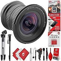 Opteka 15mm f/4 HD Ultra Wide Angle Macro Lens w/32GB - 20PC Camera Bundle for Canon EOS 80D, 77D, 70D, 60D, 7D, 6D, 5D, 7D Mark II, T7i, T6s, T6i, T6, T5i, T5, SL1 & SL2 Digital SLR Cameras