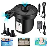 Air Mattress Pump for Inflatables, Quick Fill Inflator Deflator Air Pump Perfect for Outdoor Camping Inflatable Boat…