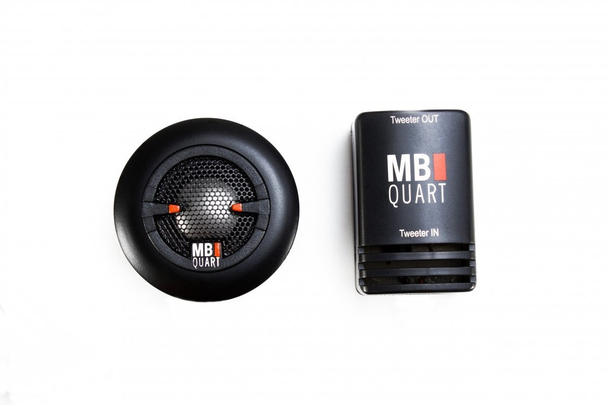 MB Quart XT1-20 0.75 15W RMS X-Line Titanium Dome Tweeter with 12dB in-Line Crossover