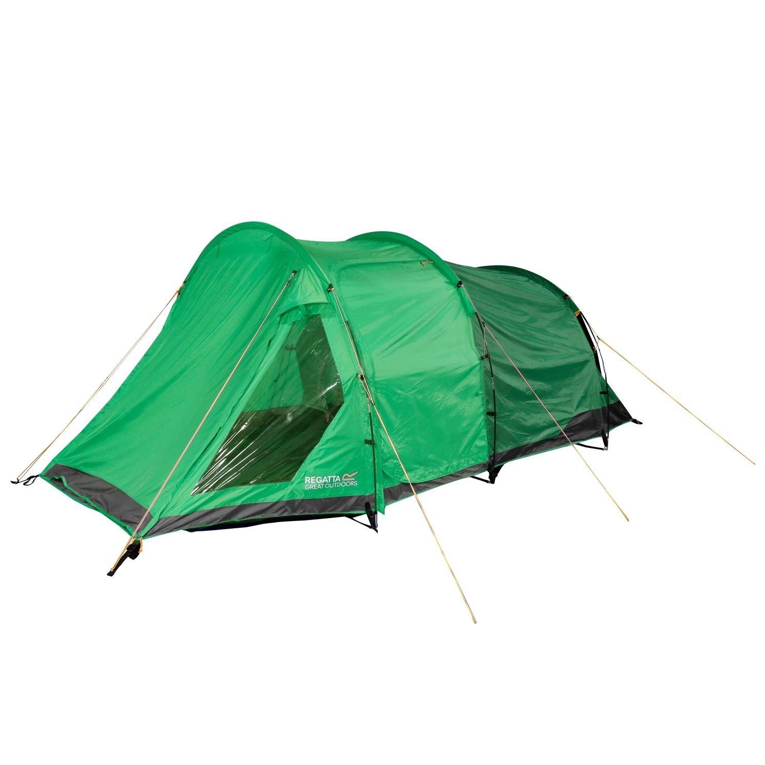 Regatta Vester 4 Person Family Tent - Extreme Green by Regatta