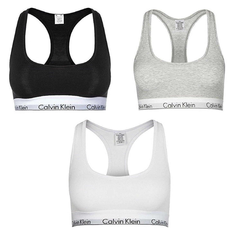 29f790d64cce CK Underwear, Calvin Klein - Sujetador deportivo - para mujer gris ...