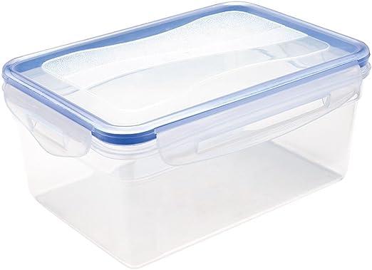 GP&Me Unknown - Caja hermética con Junta de Silicona, 1500 ml, plástico, Transparente, 20,5 x 14,7 x 8,2 cm: Amazon.es: Hogar