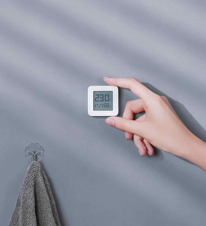 Xiaomi Bluetooth 4.2 Thermometer Wireless 2 LCD Smart Hygrometer Humidity Sensor