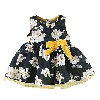 96f85f825 Cyond Baby Girls Dress 6-24 Months New Fashion Toddler Girls Summer ...