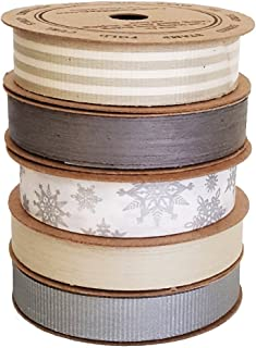 product image for Cream City Ribbon Artisan Curling Ribbon Collection Winter Collection