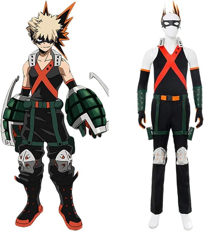 disfraz Katsuki my hero academia