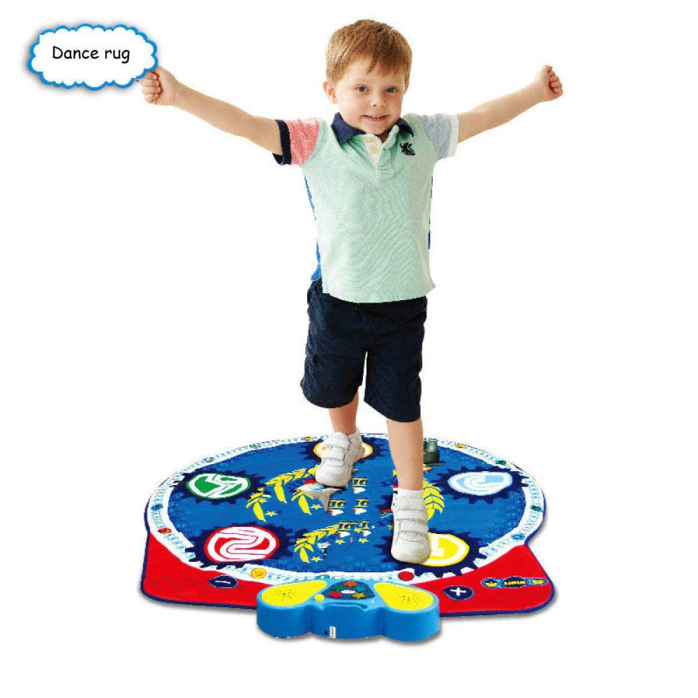 QXMEI Dance Blanket Children's Dance Blanket Early Learning Toys Sound Children Music Foot Family Dance Blanket Product Size: 35.8inchs 36.6inchs