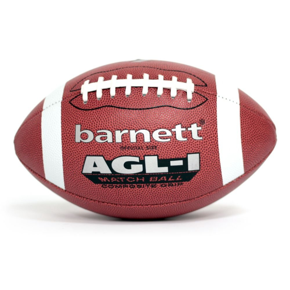 barnett AGL-1 Ballon de football américain us match polyuréthane junior