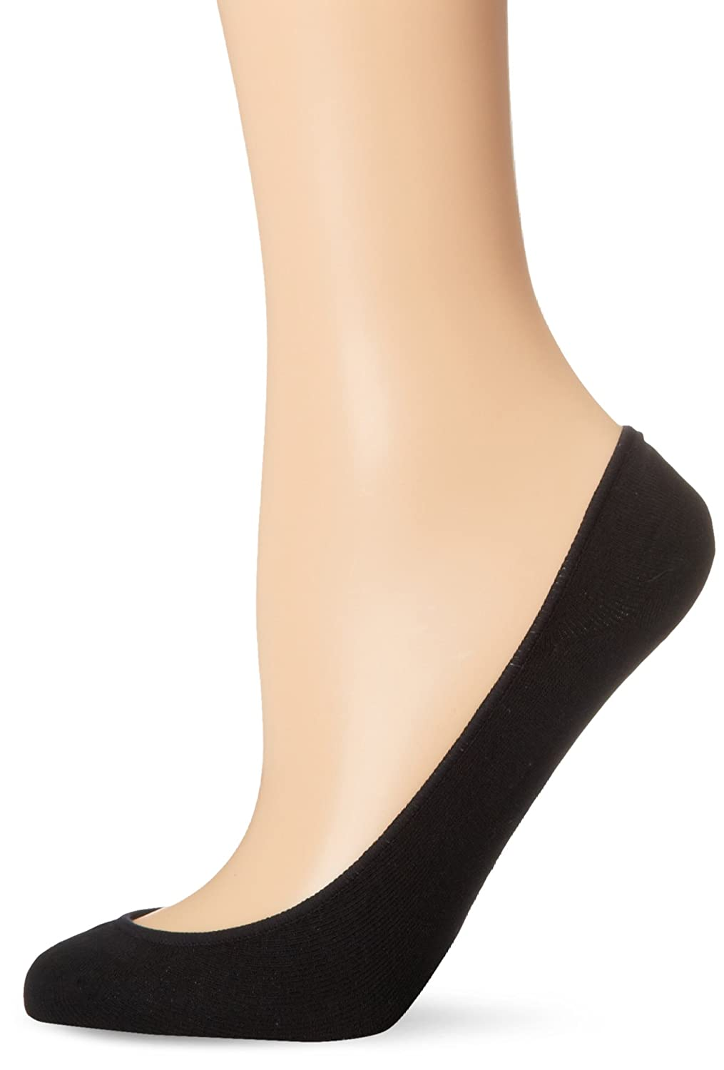 No Nonsense Women's Cotton Ultra Low Cut Liner Sock 6-Pack, Black, One Size  at Amazon Women's Clothing store: