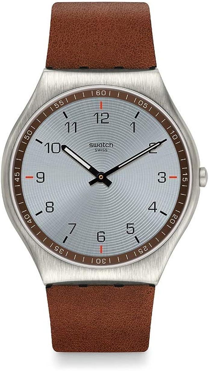 [スウォッチ] 腕時計 SKIN SUIT BROWN SS07S108 正規輸入品