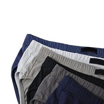 a855c63a75 Amazon.com  Omkuwl Men s Cotton Underwear Shorts Men Boxers Soft Briefs  Random Color Underwear Panties Xxl  Home   Kitchen
