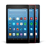 Amazon Price History for:All-New Fire HD 8 Variety Pack, 16GB - Includes Special Offers (Black/Marine Blue/Punch Red)