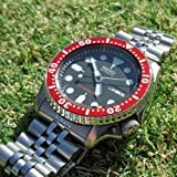 RED Aluminium Insert for Bezel from Scuba Diver SKX